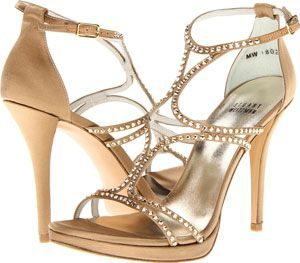 Stuart Weitzman trendy high heels with strap