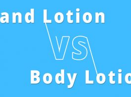 difference between hand lotion and body lotion