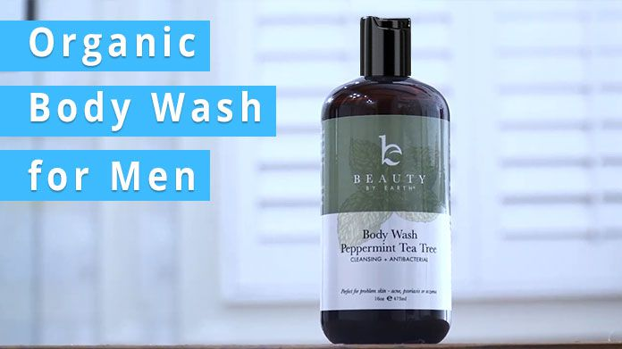 best organic body wash for men