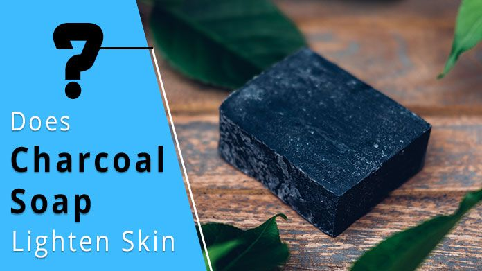 Does charcoal soap lighten skin