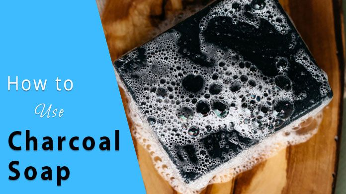 How to Use Charcoal Soap
